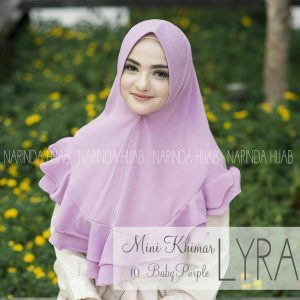 LYRA MINI KHIMAR BY NARINDA