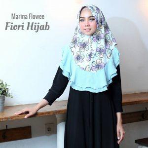 JILBAB MARINA FLOWEE By Fiori