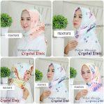 Jilbab Maxmara Velvet Blossom crystal Etnic Harga Grosir