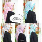 Jilbab Rose Blossom Maxmara Harga Grosir
