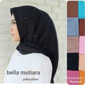 Jilbab Bella Mutiara Harga Grosir