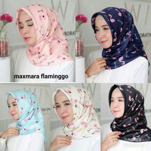 Jilbab Maxmara Flaminggo Harga Grosir