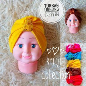 Grosir Jilbab Anak TURBAN LINGLING