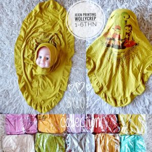 Jejen Printing grosir jilbab anak