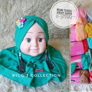 Nilna tussel grosir jilbab anak
