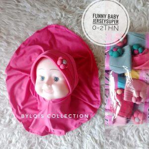 Funny baby grosir jilbab anak