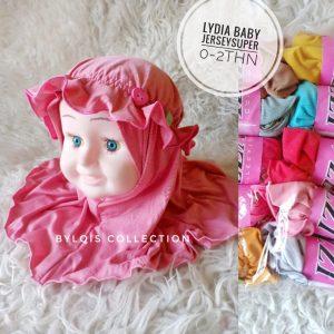 Lydia baby grosir jilbab anak