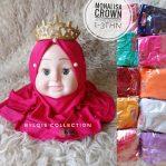 Monalisa crown grosir jilbab anak