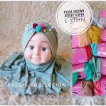 Pearl crown grosir jilbab anak