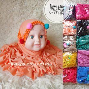 Luna baby grosir jilbab anak