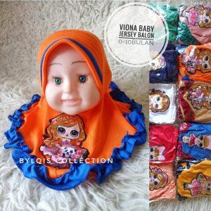 Viona baby grosir jilbab anak