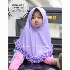 Maria gotik grosir jilbab anak