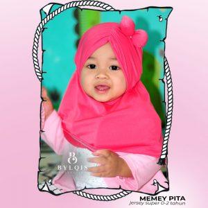 Memey Pita grosir jilbab anak