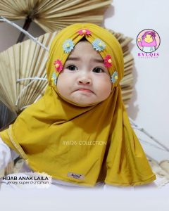 Laila hijab grosir jilbab anak