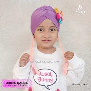 Turban anak barbie