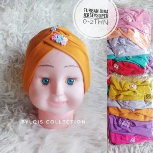 Turban dina grosir jilbab anak