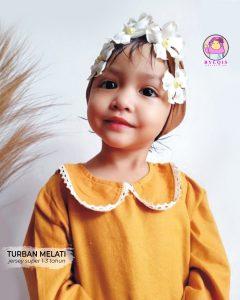 Turban Melati grosir jilbab anak