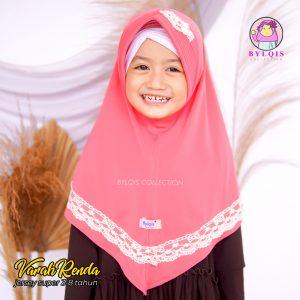 Varah renda grosir jilbab anak