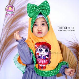 Jilbab anak Minnie LOL LED