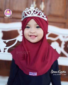 Queen keysha grosir jilbab anak