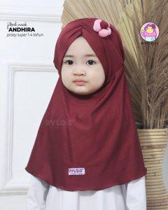 Jilbab anak andhira