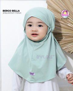 Jilbab anak bergo bella