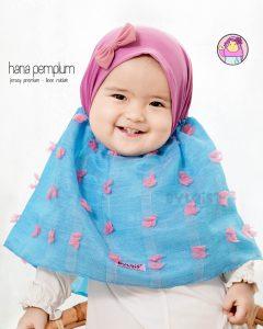 Jilbab anak hana pemplum