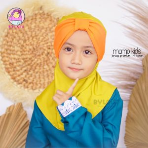 Jilbab anak momo kids