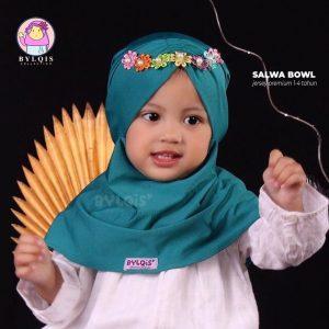 Jilbab anak salwa bowl