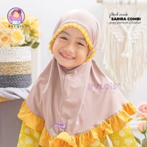 Jilbab anak sarira combi