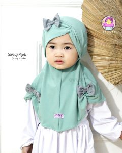 Jilbab anak lovely